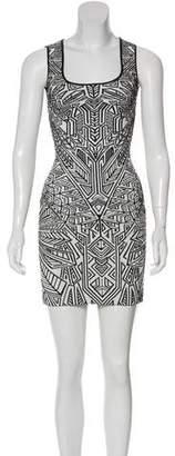 RVN Jacquard Bodycon Dress