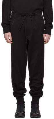 Y-3 Black Classic Cuffed Lounge Pants