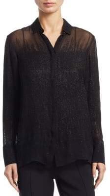 Akris Silk-Blend Tunic Blouse
