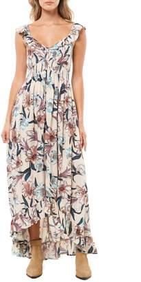 O'Neill Cleo Ruffle Maxi Dress