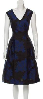 Zac Posen Jacquard Fit & Flare Dress w/ Tags