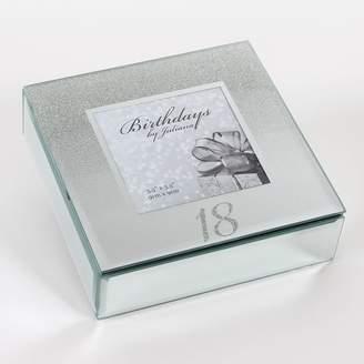 The Juliana Collection Birthdays by Juliana 18th Mirrored Trinket Box