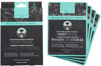 Danielle Creations Detoxifying Charcoal Sheet Mask 4-Pack