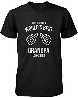 Love 365 Printing Funny Grandpa T-Shirt - This Is What A World's Best Grandpa Looks Like
