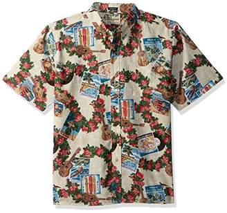 Reyn Spooner Men's Christmas Kloth Classic Fit Shirt