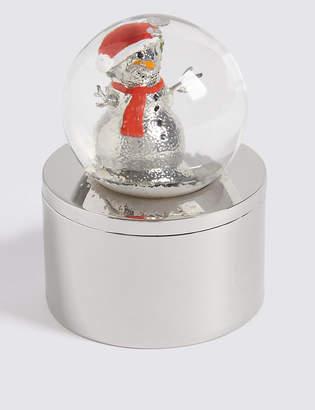 Marks and Spencer Snow Globe Trinket Box