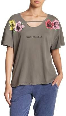 Wildfox Couture Bombshell Print Tee
