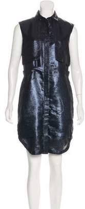 Markus Lupfer Sleeveless Knee-Length Dress