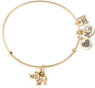 Alex and Ani (アレックス アンド アニ) - Alex and Ani Charity by Design Elephant II Adjustable Bangle