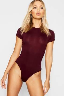 boohoo Short Sleeve Bodysuit
