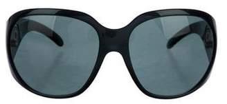 Bvlgari Oversize Embellished Sunglasses