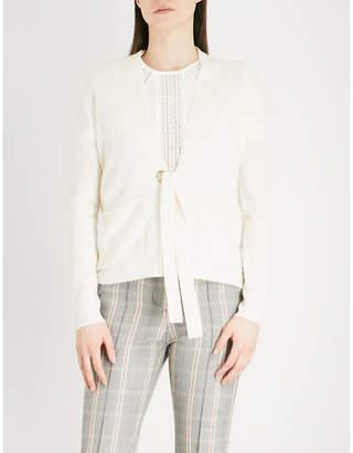 Maje Mariani wool and cashmere-blend cardigan
