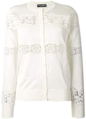 Dolce & Gabbana lace cardigan