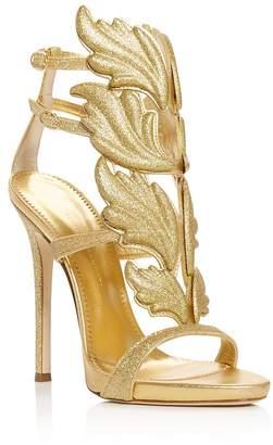 fb4a06d877b4 Giuseppe Zanotti Women s Cruel Coline Wing-Embellished High-Heel Sandals