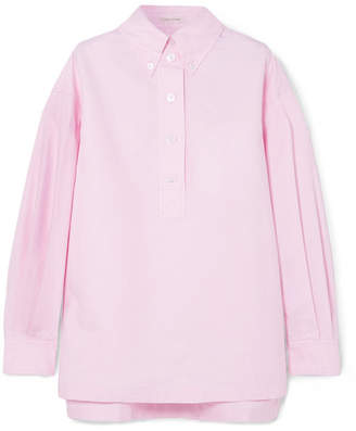 Marc Jacobs Oversized Cotton Oxford Shirt - Pink