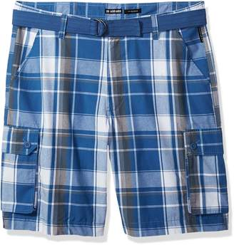 Ecko Unlimited Unltd. Men's Tall Salem Plaid Cargo Short