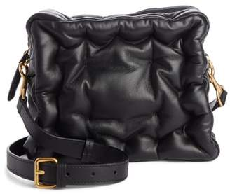 Anya Hindmarch Chubby Cube Leather Crossbody Bag
