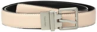 Calvin Klein 25mm Reversible Smooth to Smooth Belt Women's Belts