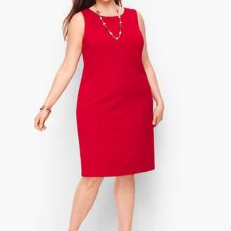 Talbots Italian Luxe Knit Sheath Dress - Solid
