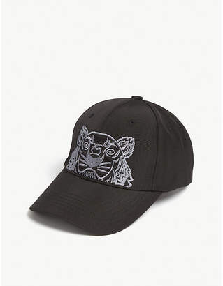 Kenzo Tiger logo baseball cap