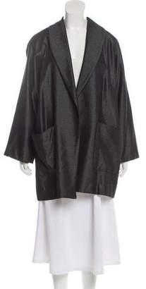Michael Kors Wool-Blend Blazer Coat