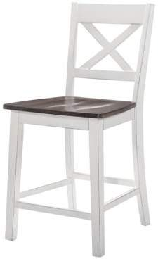 """Simmons Casegoods """"a La Carte"""" 2-Pk Counter Height Barstools - White"""