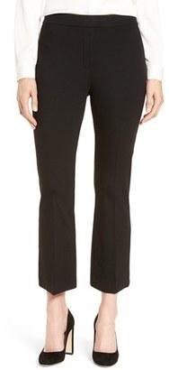 Women's Nordstrom Collection Ponte Crop Flare Leg Pants $199 thestylecure.com