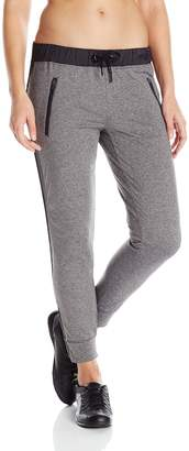 Calvin Klein Women's Hi-Tech Pant with Zipper Cuffs