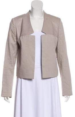 Halston Long Sleeve Open Jacket