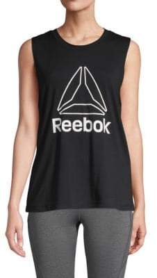 Reebok Logo Muscle Tank Top