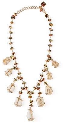 Rosantica By Michela Panero - Viper Shell And Bead Necklace - Womens - Multi