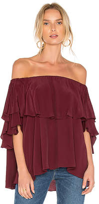 MLM Label Maison Top in Red $150 thestylecure.com