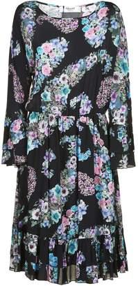 Blugirl Floral Print Flared Dress