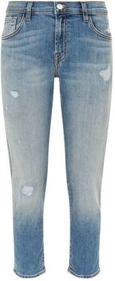 J Brand Sadey Straight Fit Jeans
