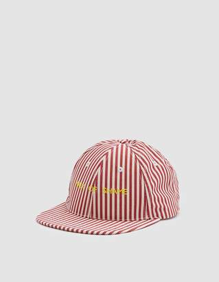 Walk Of Shame Cyrillic Cap in White + Red