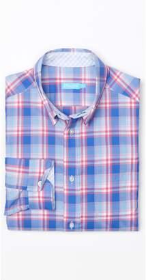 J.Mclaughlin Boys' Carnegie Shirt in Plaid