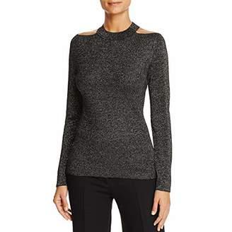 T Tahari Women's Sparkle Talulla Sweater