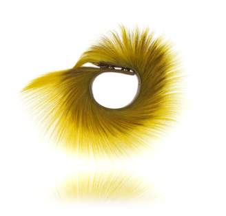 Okapi Springbok Cuff / Blesbok, Gold Hardware