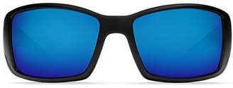 Costa del Mar Unisex-Adult Blackfin BL 11 OBMGLP Polarized Iridium Wrap Sunglasses