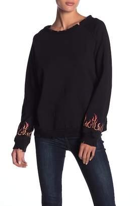 Honey Punch Flame Sweatshirt