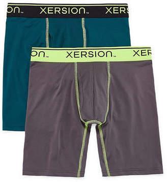 Xersion 2-pk. Shield Long Leg Boxer Briefs