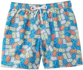 Original Penguin Domino Reversible Swim Trunk
