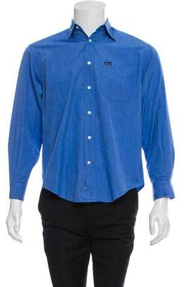 Façonnable Woven Button-Up Shirt