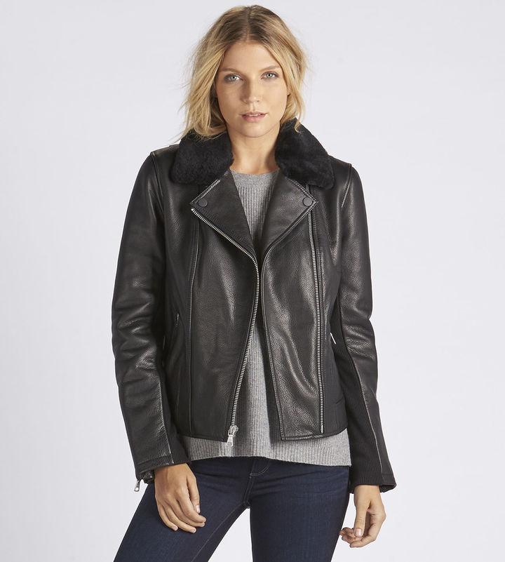 UGGWomen's Leather Cycle Jacket