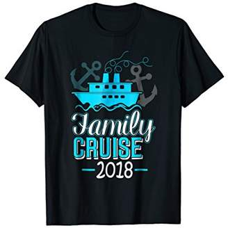 Family Cruise T-shirt Family Vacation Travel Camping Trip