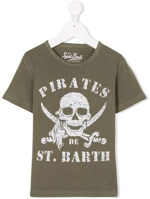 MC2 Saint Barth Kids pirate skull T-shirt