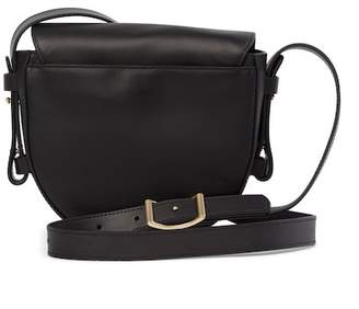 Skagen Lobelle Leather Saddle Crossbody Bag