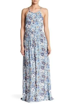 Moon River Floral Maxi Dress