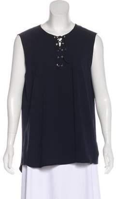 Tibi Sleeveless Lace-Up Tunic w/ Tags
