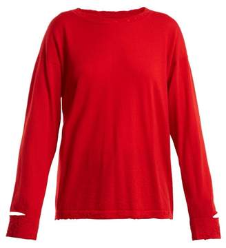 Barrie Sweet Eighteen Cashmere Sweater - Womens - Red